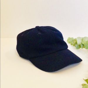 J. Crew | Men's Navy Wool Hat Ball Cap
